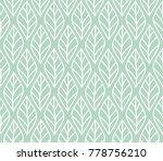 vector illustration of leaves... | Shutterstock .eps vector #778756210