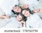 concept of family happiness ... | Shutterstock . vector #778762750