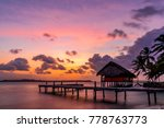 Colorful Tropical Sunset On On...