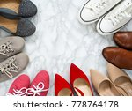 variety of the colorful woman...   Shutterstock . vector #778764178