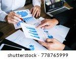 business people meeting design...   Shutterstock . vector #778765999