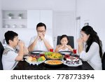 picture of young parents with...   Shutterstock . vector #778773394