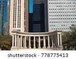 millennium monument at...   Shutterstock . vector #778775413