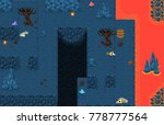 collection of top down tiles...   Shutterstock .eps vector #778777564