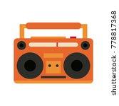 old radio stereo | Shutterstock .eps vector #778817368