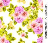 abstract elegance seamless... | Shutterstock .eps vector #778826884
