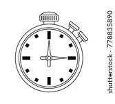 chronomter sport timer | Shutterstock .eps vector #778835890