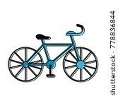 sport vintage bike   Shutterstock .eps vector #778836844