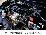 close up detail of new car... | Shutterstock . vector #778837360