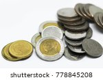 closeup group of thai baht... | Shutterstock . vector #778845208