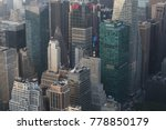 aerial view high buildings.... | Shutterstock . vector #778850179