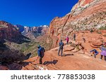 zion national park 2017 10 13... | Shutterstock . vector #778853038