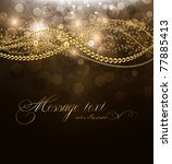 vector elegant background with... | Shutterstock .eps vector #77885413