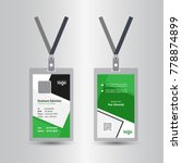 creative simple green   black... | Shutterstock .eps vector #778874899
