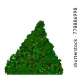 merry christmas tree plain... | Shutterstock .eps vector #778886998