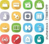 flat vector icon set   shopping ... | Shutterstock .eps vector #778887499