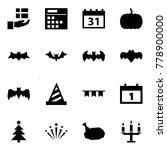 origami style icon set   gift... | Shutterstock .eps vector #778900000
