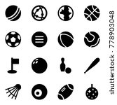 origami style icon set   ball... | Shutterstock .eps vector #778903048