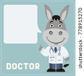 Donkey Doctor With Bubble...