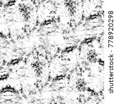grunge black and white pattern. ... | Shutterstock . vector #778920298