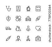 pharmaceutical icon set.... | Shutterstock .eps vector #778920364