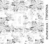 grunge black and white pattern. ... | Shutterstock . vector #778930966