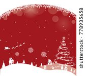 merry christmas and happy new...   Shutterstock .eps vector #778935658