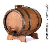 A Small Wooden Wine Bar  Barrel ...