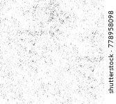 grunge black and white pattern. ...   Shutterstock . vector #778958098