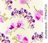 seamless texture beautiful ... | Shutterstock .eps vector #778963714