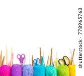 Colorful Rainbow Yarn For...