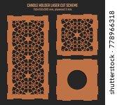 diy laser cutting vector scheme ... | Shutterstock .eps vector #778966318