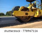 on asphalt asphalt rider there...   Shutterstock . vector #778967116