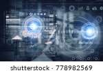futuristic user interface.... | Shutterstock . vector #778982569