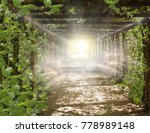 religion background . paradise ... | Shutterstock . vector #778989148