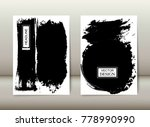 grunge background for covers ... | Shutterstock .eps vector #778990990