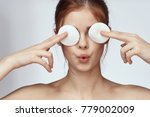 face care  natural beauty  ... | Shutterstock . vector #779002009