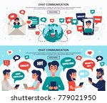 electronic communication... | Shutterstock .eps vector #779021950