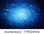 2d illustration technology... | Shutterstock . vector #779024920