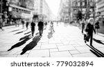 crowd of anonymous people... | Shutterstock . vector #779032894