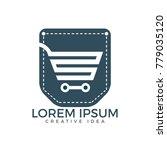 pocket and shopping cart logo... | Shutterstock .eps vector #779035120