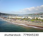 a summer day at teignmouth... | Shutterstock . vector #779045230