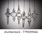 studio shot of crystal toy...   Shutterstock . vector #779059066