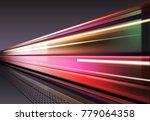 vector image of lights when the ...   Shutterstock .eps vector #779064358