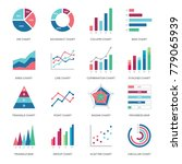 business graphic data icon... | Shutterstock .eps vector #779065939