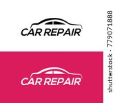 automotive car repair logo... | Shutterstock .eps vector #779071888