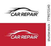automotive car repair logo... | Shutterstock .eps vector #779072140