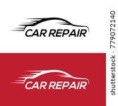 automotive car repair logo... | Shutterstock .eps vector #779072140