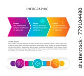 abstract infographics icon... | Shutterstock .eps vector #779104480
