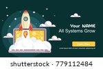 simple rocket icon  responsive... | Shutterstock .eps vector #779112484